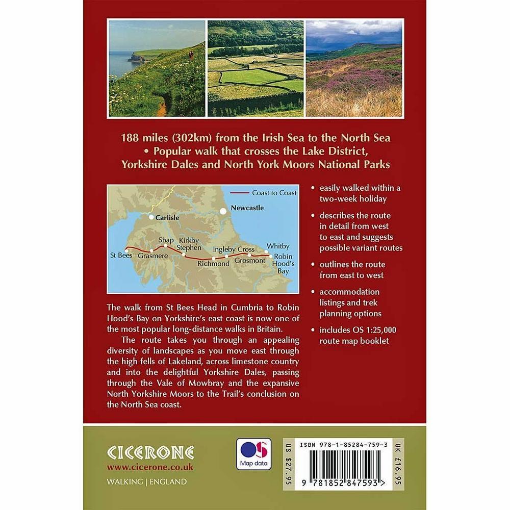 Cicerone Guidebook: Walking The Coast to Coast Walk