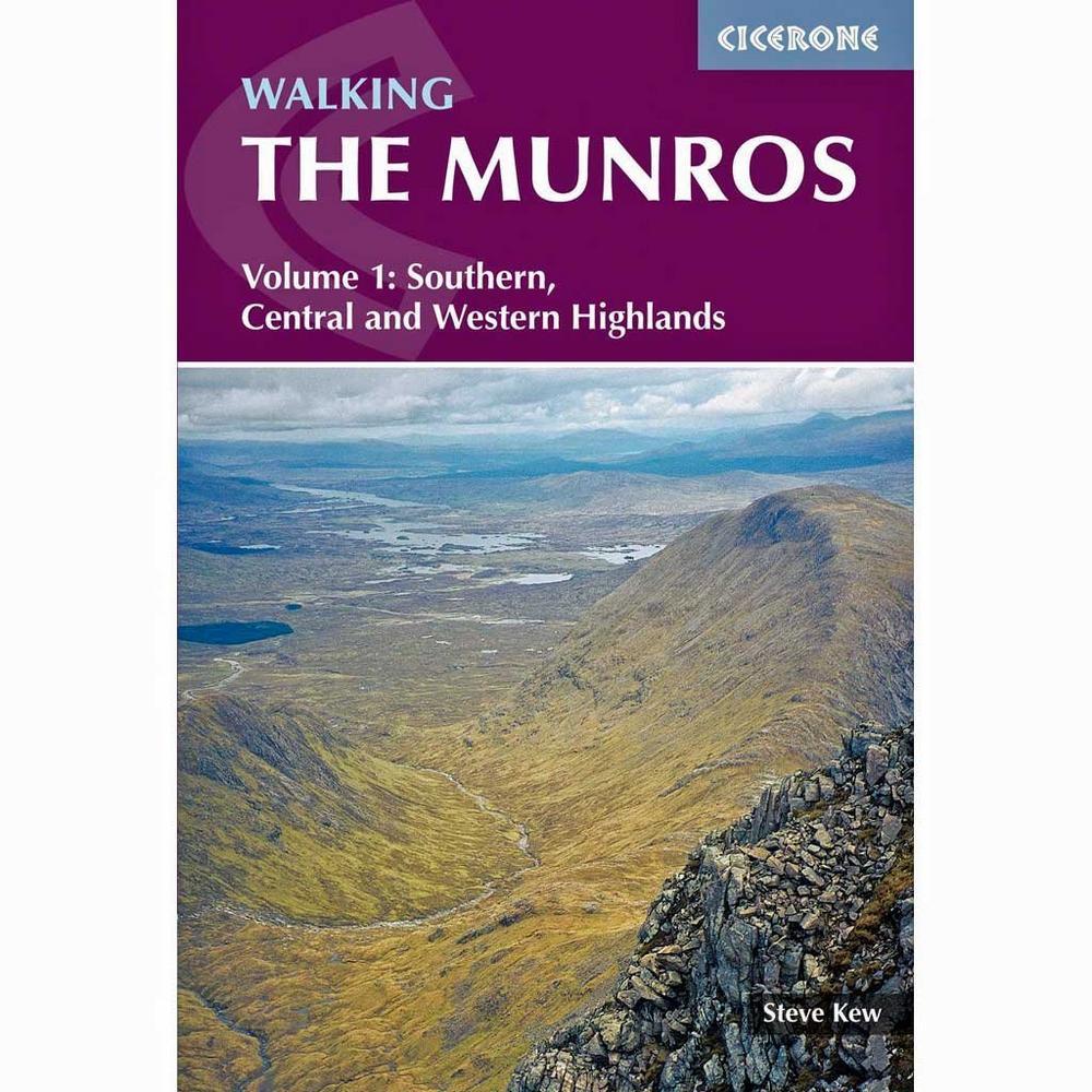 Cicerone Guide Book: Walking the Munros Volume 1