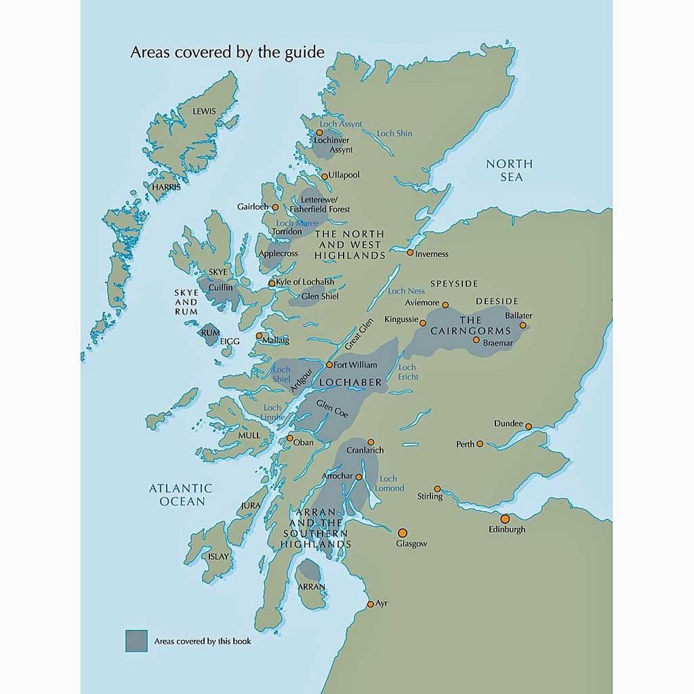 Cicerone Guide Book: Scotland's Mountain Ridges: Bailey