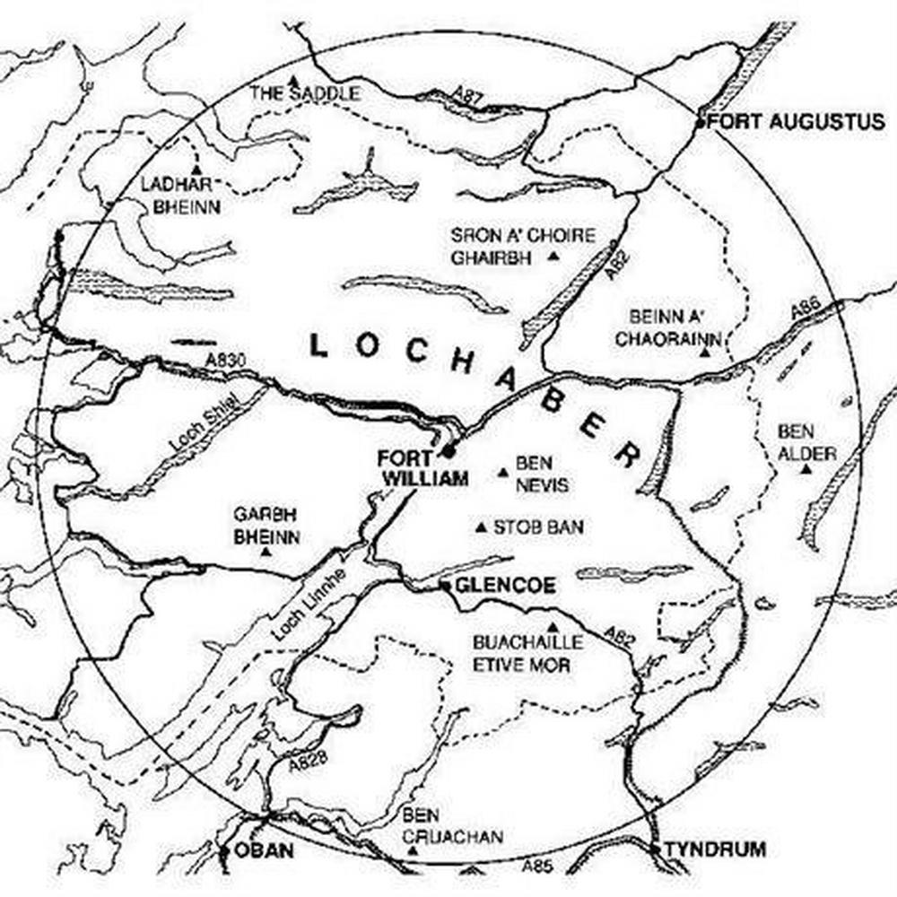 Cicerone Guide Book: Scrambles in Lochaber