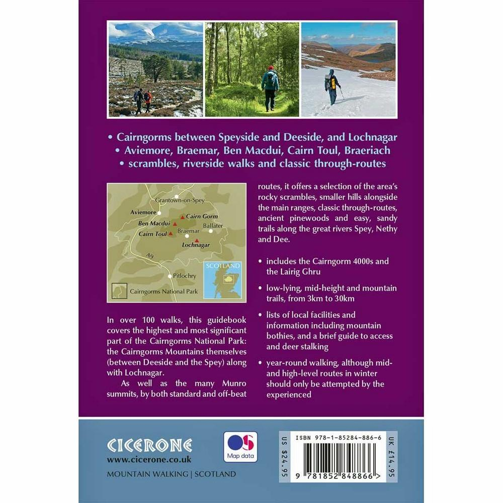Cicerone Guide Book: Walking in the Cairngorms