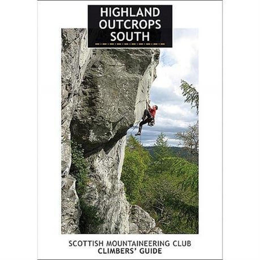 Cordee SMC Climbing Guide Book: Highland Outcrops South