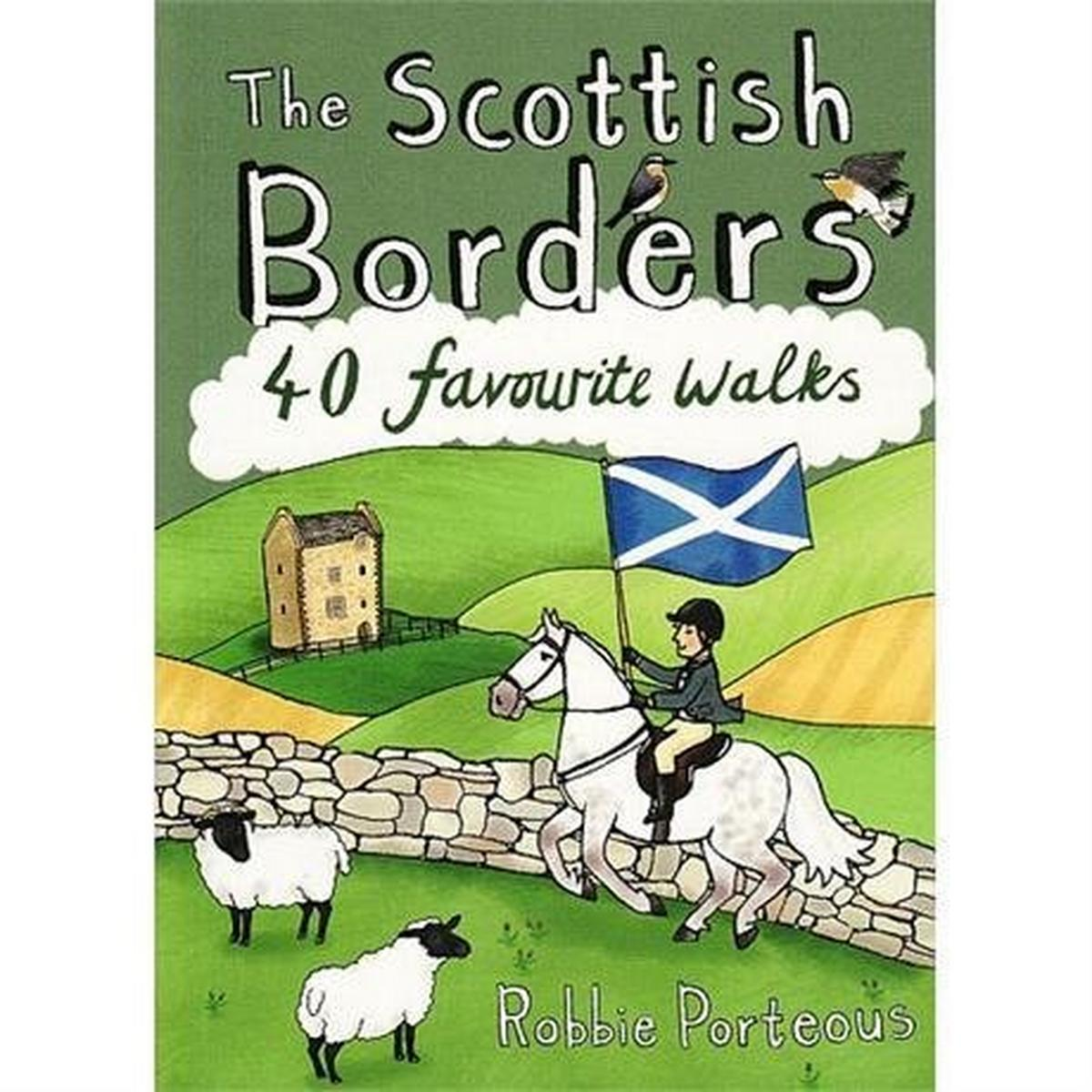 Cordee Pocket Mountains Guide Book: The Scottish Borders