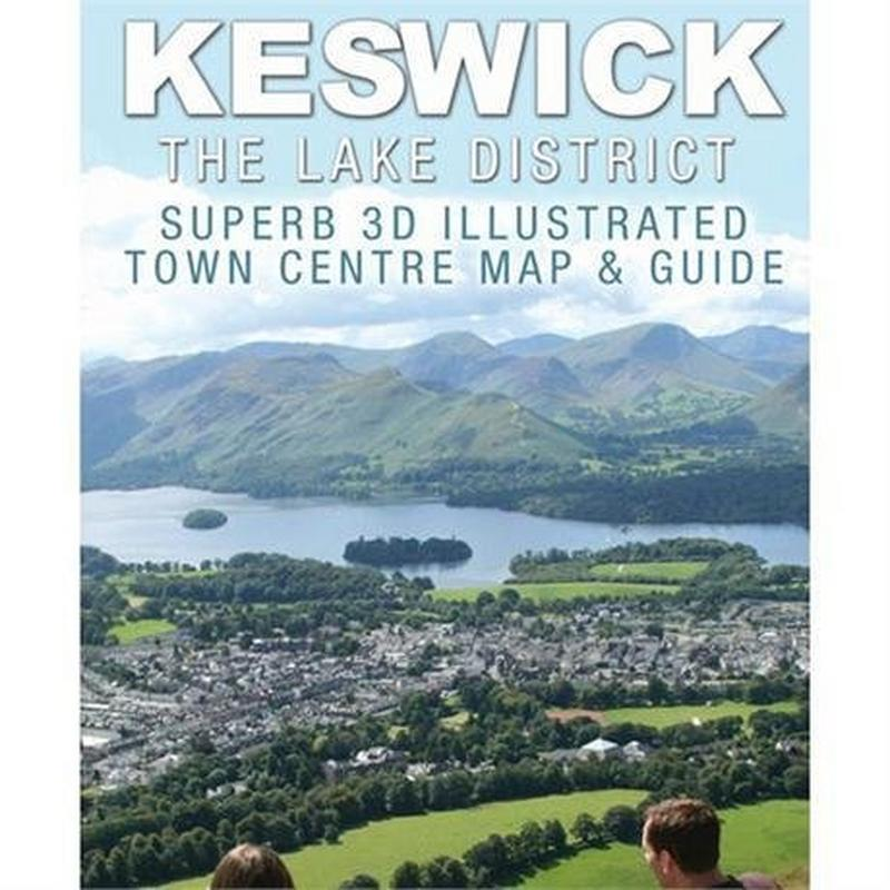 Cityscape Map Keswick 3D Illustrated Town Map & Guide