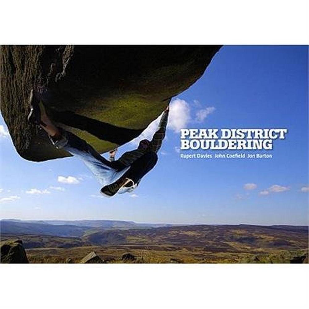 Vertebrate Publishing Climbing Guide Book: Peak District Bouldering
