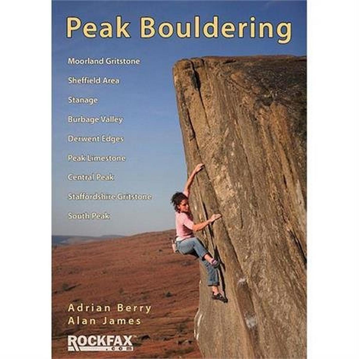 Rockfax Climbing Guide Book: Peak Bouldering