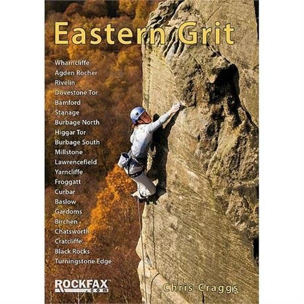 Rockfax Climbing Guide Book: Eastern Grit