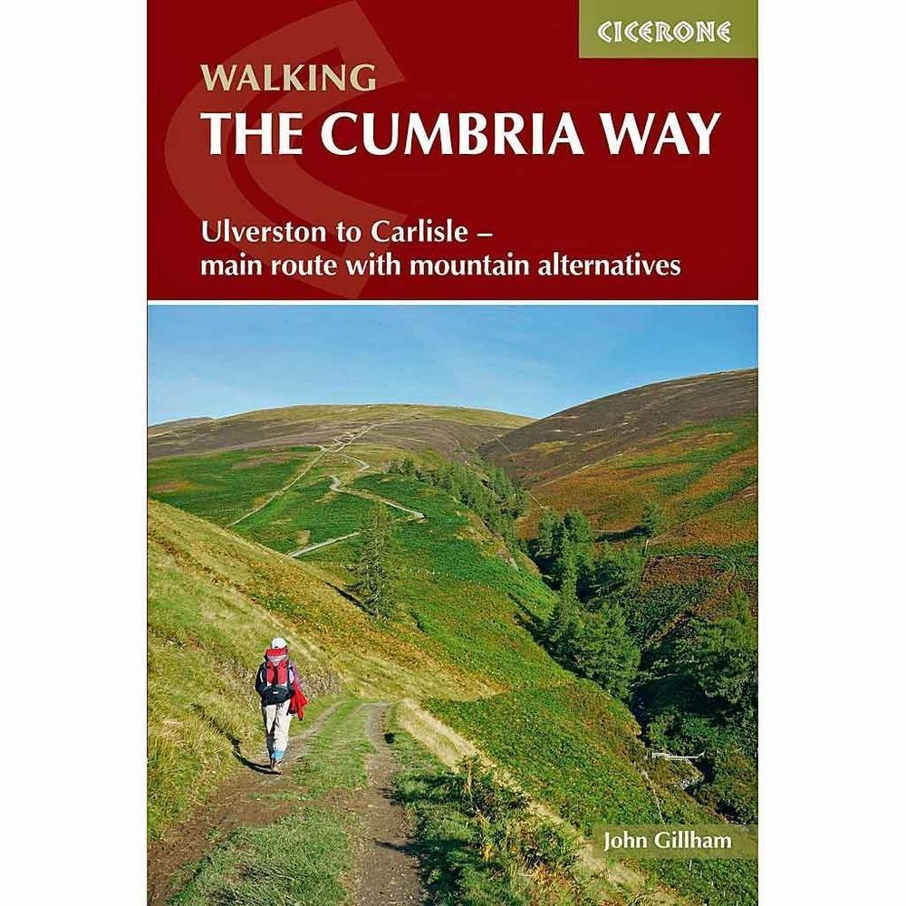 Cicerone Guide Book: The Cumbria Way: Gillham