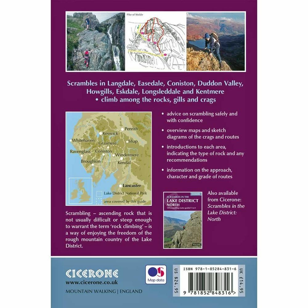 Cicerone Guide Book: Scrambles in the Lake District South