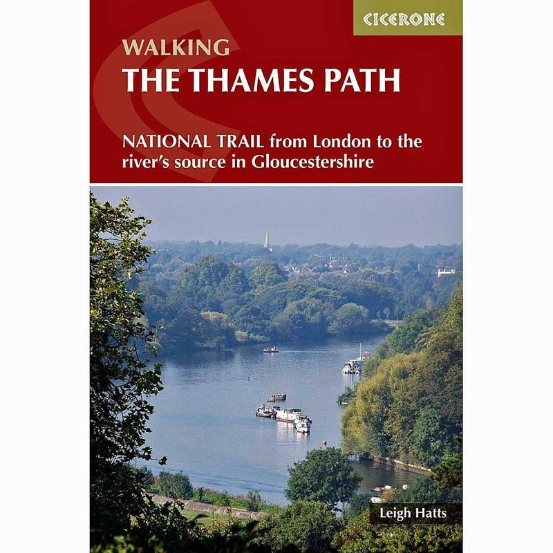 Walking Guide Book: The Thames Path (incl. map booklet)