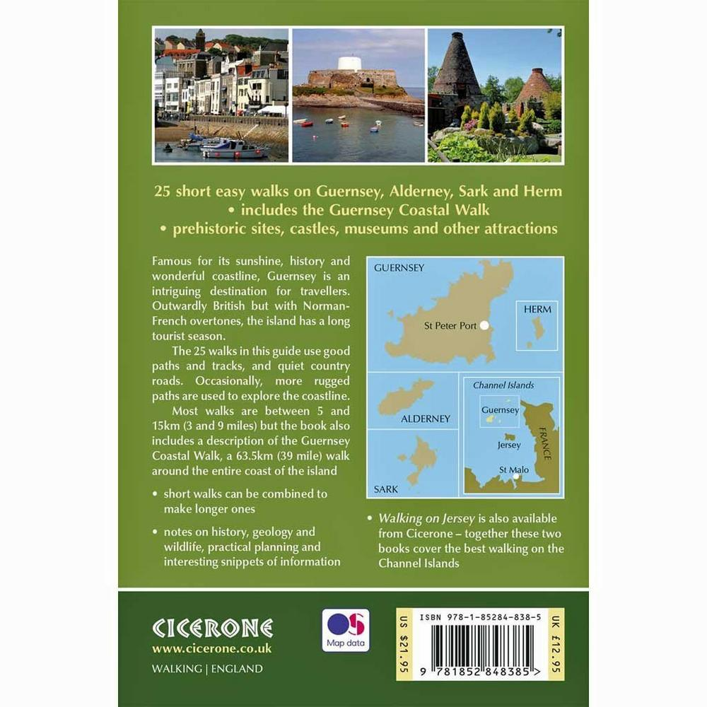 Cicerone Guidebook: Walking on Guernsey