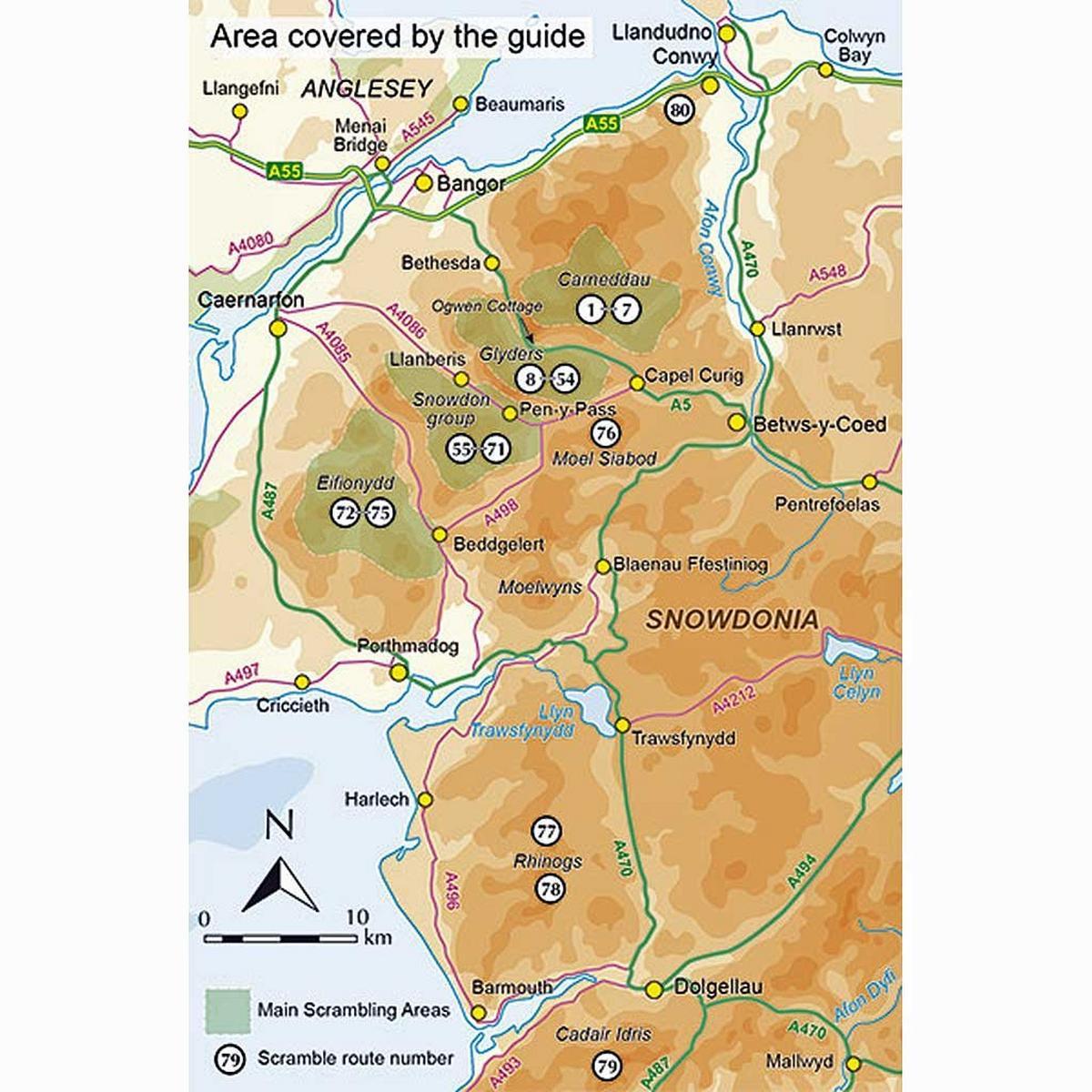 Cicerone Guide Book: Scrambles in Snowdonia