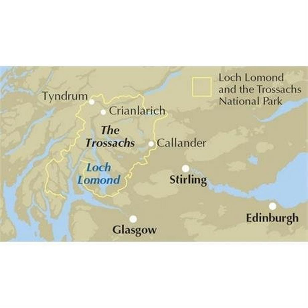 Cicerone Guide Book: Walking Loch Lomond and the Trossachs - Ronald Turnbull