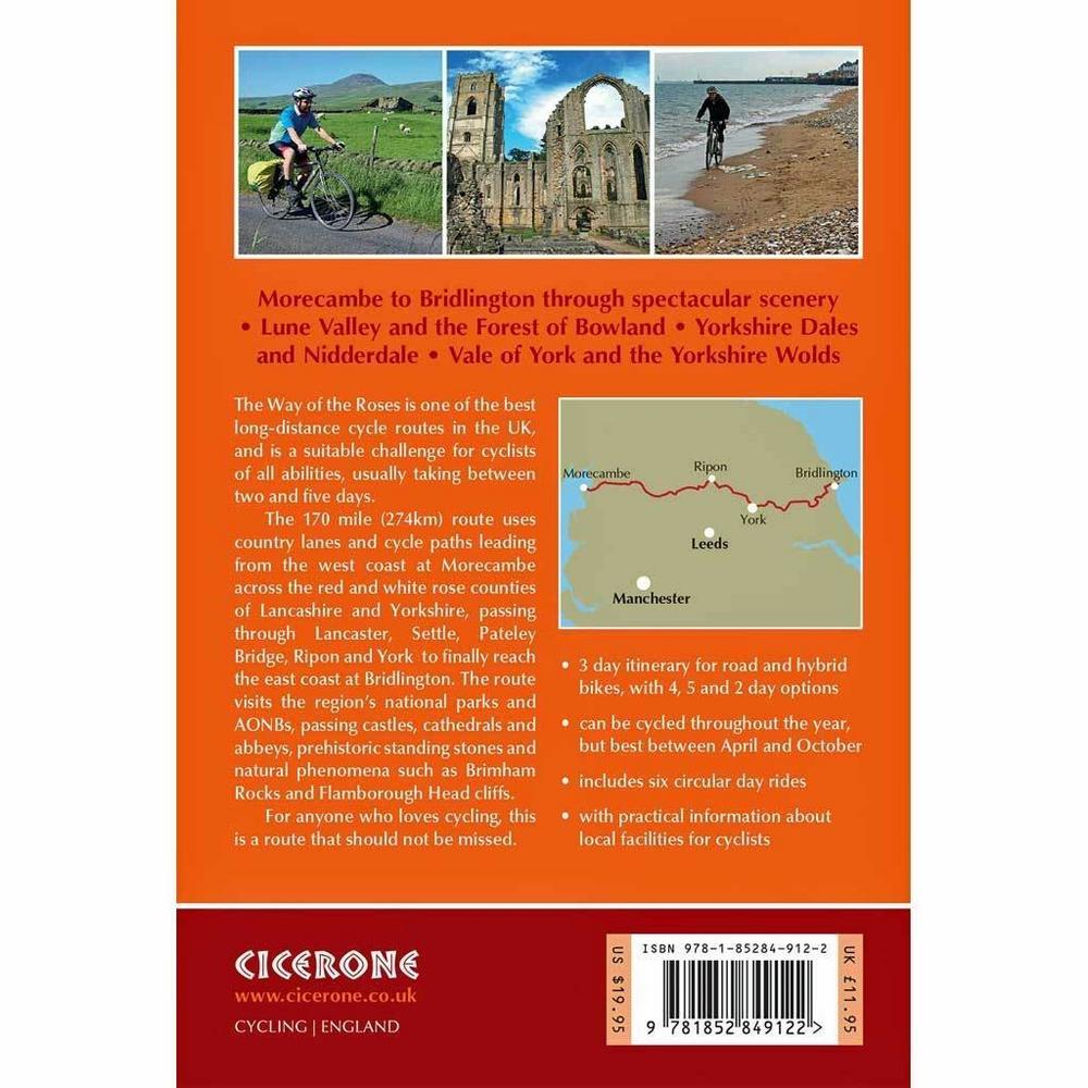 Cicerone Guide Book: Cycling the Way of the Roses