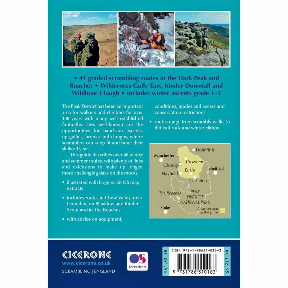 Cicerone Guide Book: Scrambles in the Dark Peak