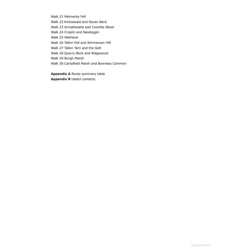 Cicerone Walking Guide Book: Cumbria's Eden Valley