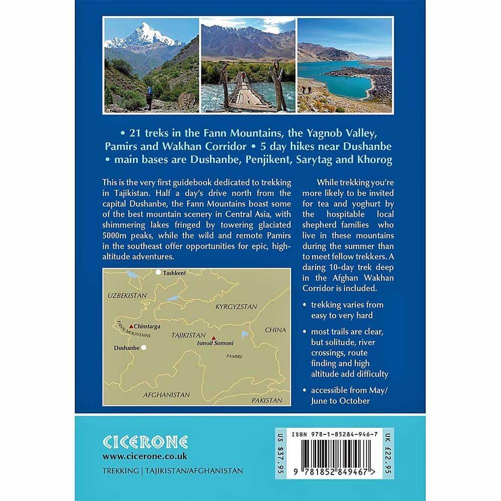 Cicerone Guide Book: Trekking in Tajikistan