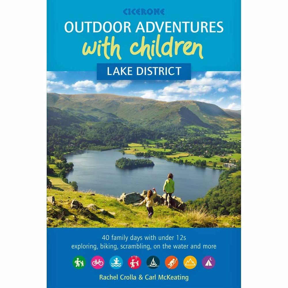 Cicerone Guide Book: Outdoor Adventures with Children - Lake District