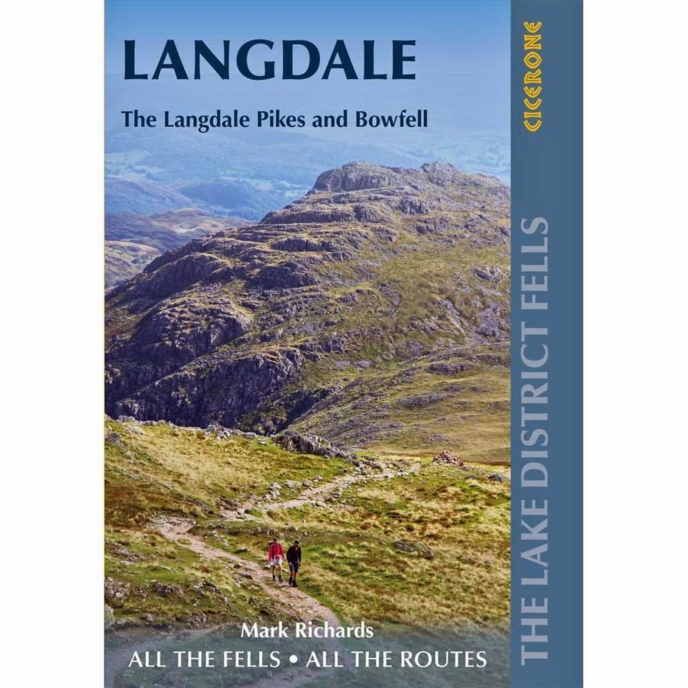 Cicerone Walking Guide Book: The Lake District Fells - Langdale