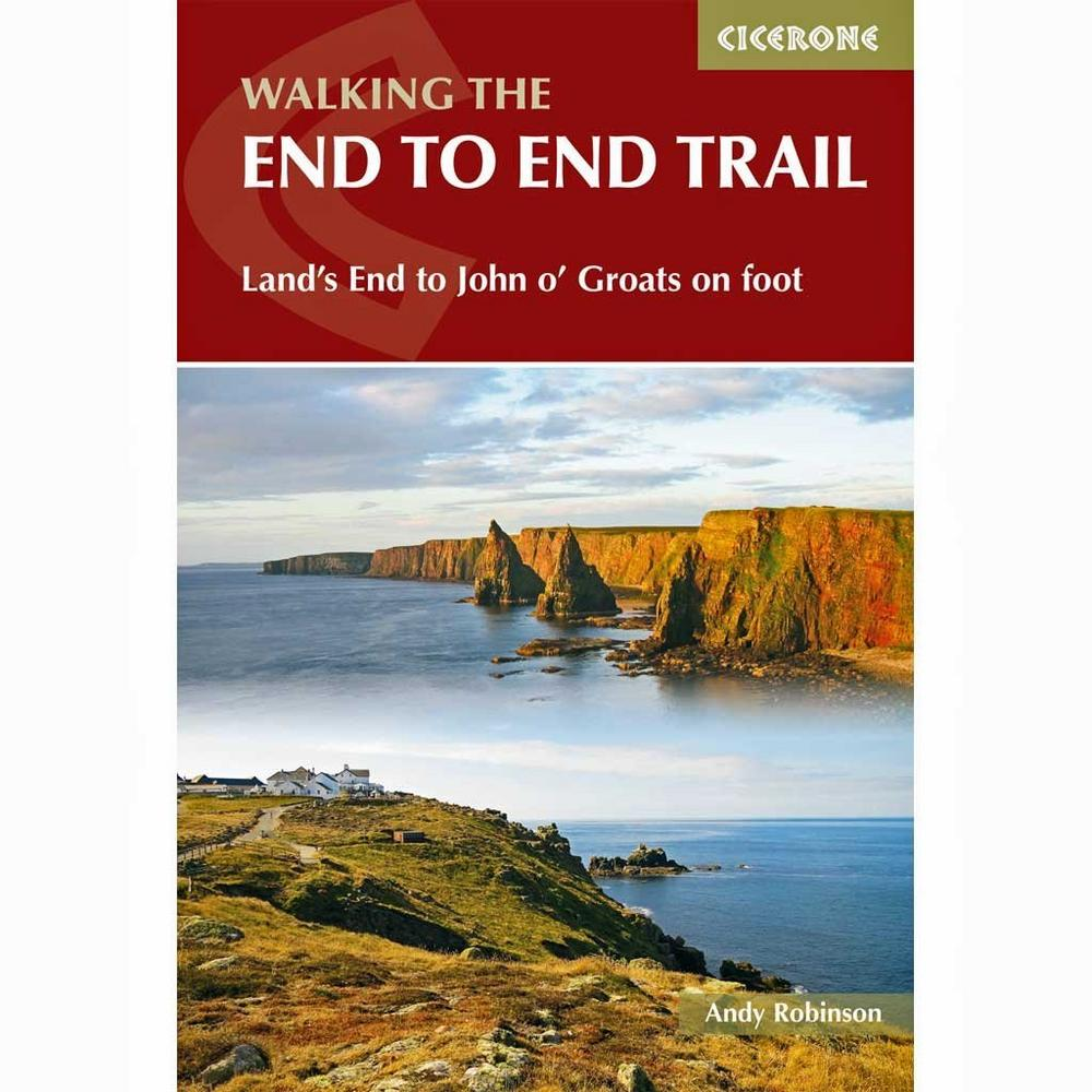Cicerone Guide Book: Walking The End to End Trail - Land's End to John o' Groats