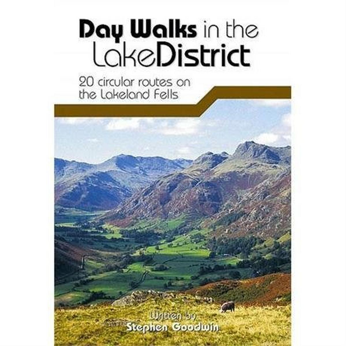 Vertebrate Publishing Guide Book: Day Walks in the Lake District: Goodwin