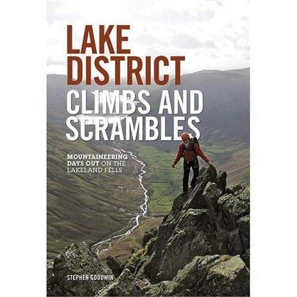 Vertebrate Publishing Climbing Guidebook - Lake District Climbs and Scrambles