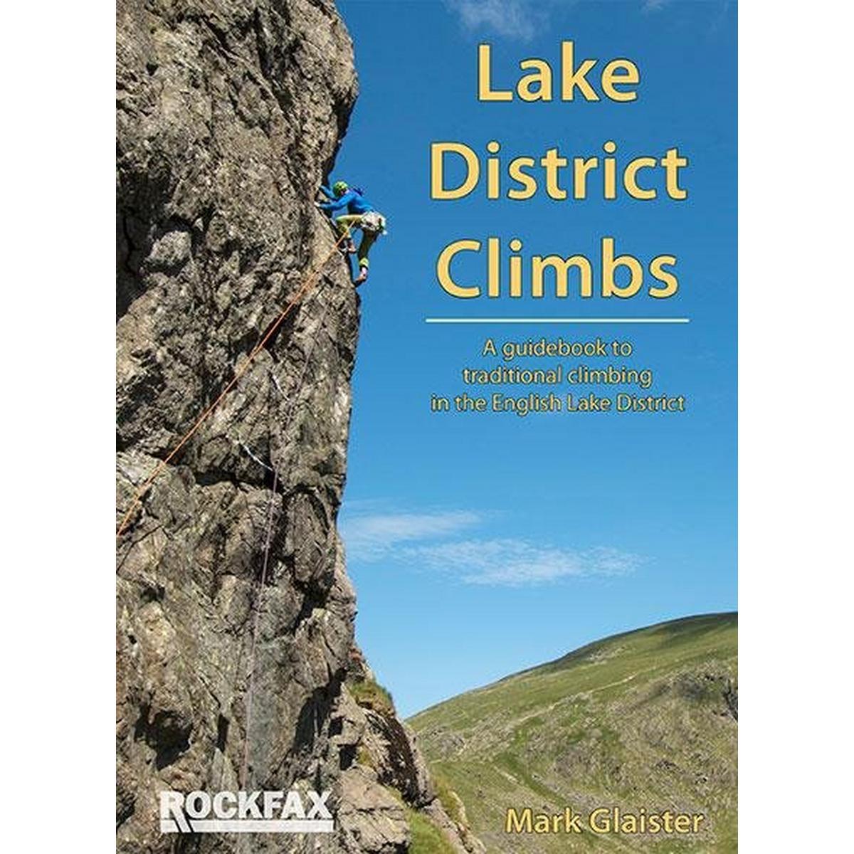 Rockfax Climbing Guide Book: Lake District Climbs