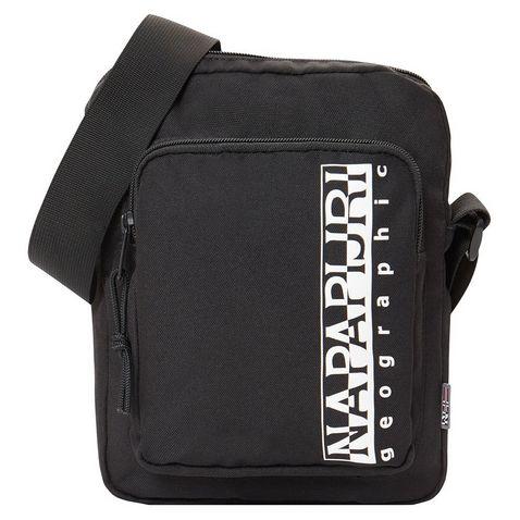 Black Napapijri Happy Cross Pocket Bag ... 0243711bc7092