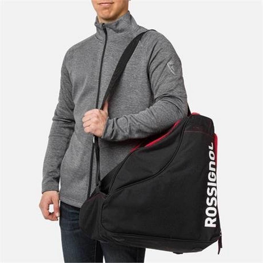 Rossignol Ski Luggage Tactic Pro Boot Bag Black/Red