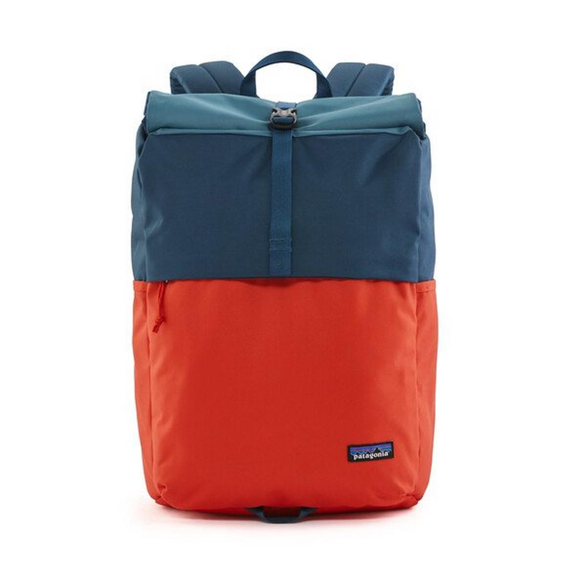 Patagonia Arbor Roll Top Pack 30L - Patchwork Paint Red