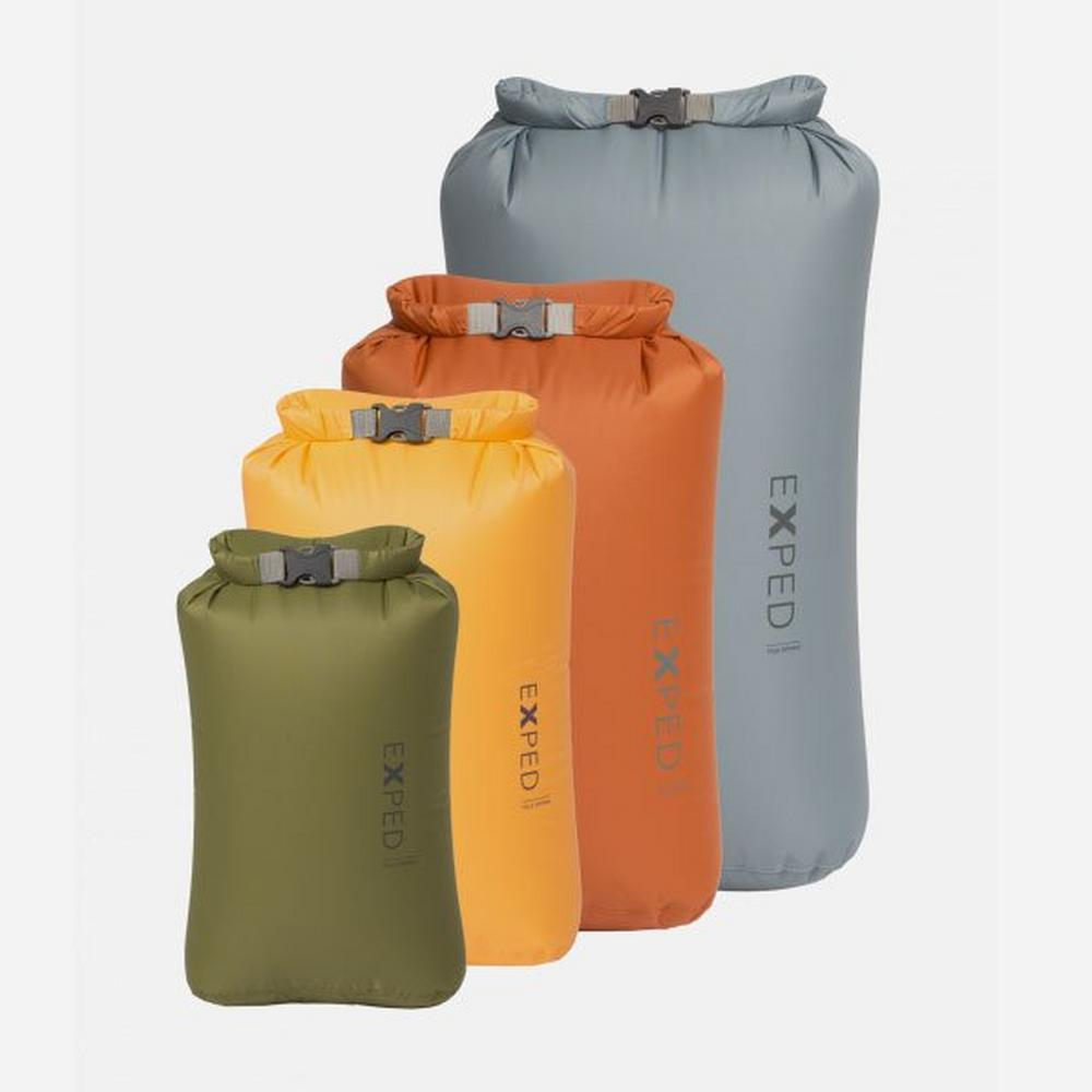 Exped CLASSIC 4 PACK XS - L Drybags