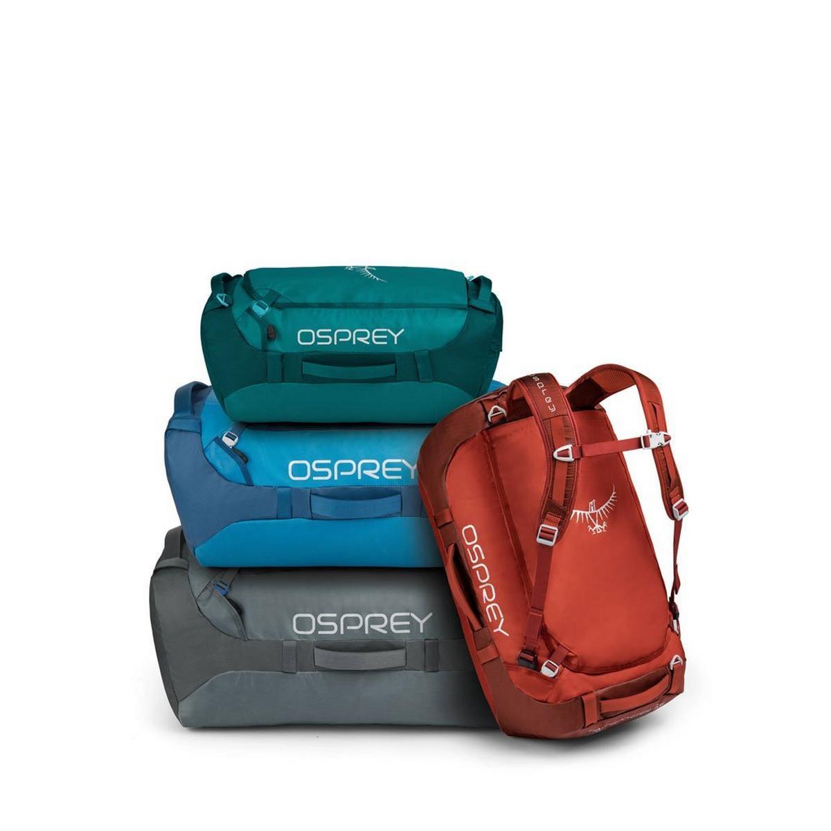 Osprey Travel Bag Transporter 65 Ruffian Red