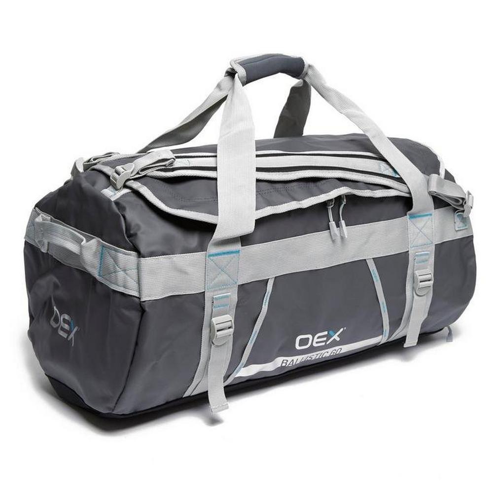 Oex Ballistic 60L Cargo Bag - Grey