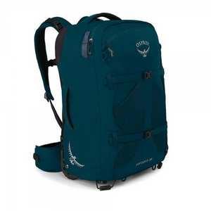 Travel Bag Fairview Wheels 36 Petrol Blue