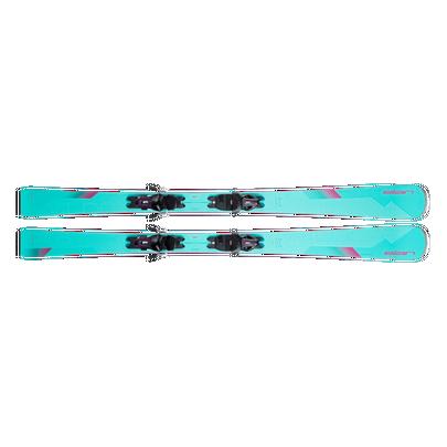 Elan Women's Wildcat 76 Ski + Lightshift ELW 9 GW Binding - Turquoise