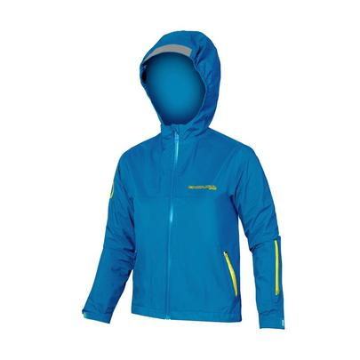 Endura Kids MT500JR Waterproof Jacket - Azure Blue