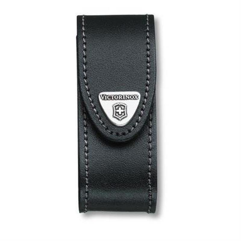 Victorinox Swiss Knife Spare / Accessory Black Leather Belt Pouch