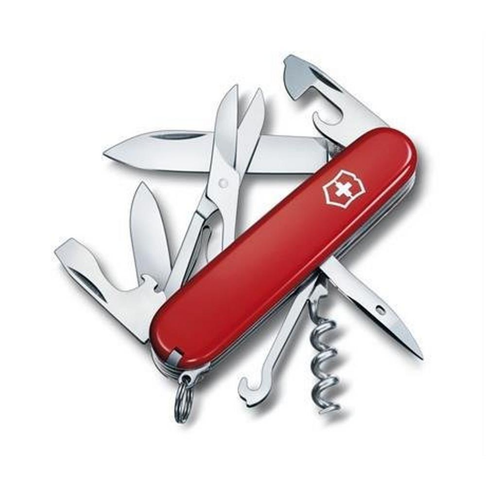 Swiss Army Victorinox Swiss Army Knife Climber Red