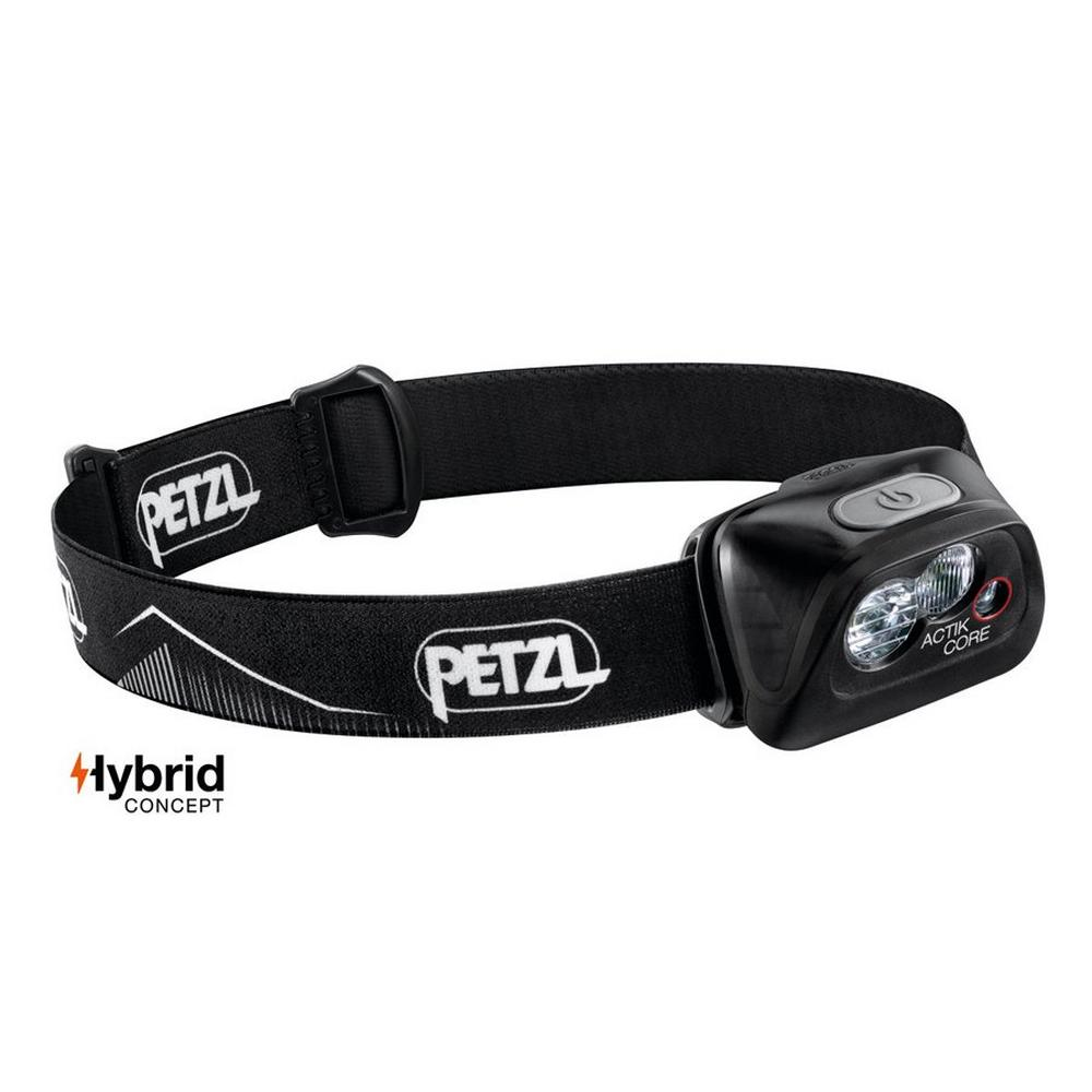 Petzl Charlet Petzl Headtorch Actik Core - Black