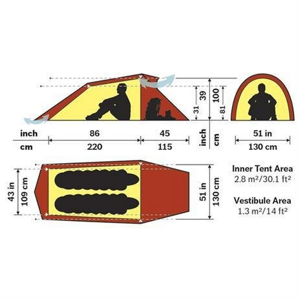 Hilleberg Tent Spare/Accessory Footprint for Nallo 2