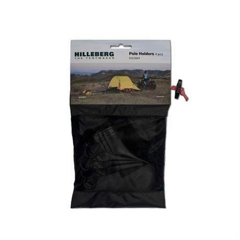 Tent Spare/Accessory Pole Holder for Inner Tent (Pack of 4)