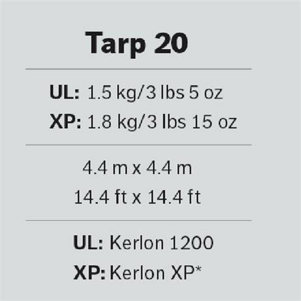 Hilleberg Tarp 20 XP - Brown