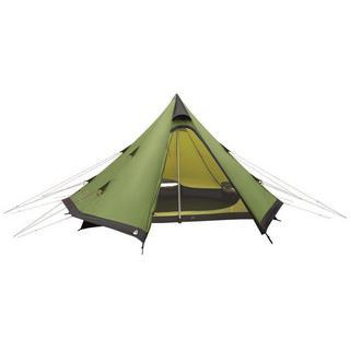 Cone 4 Person Tipi Tent - Green