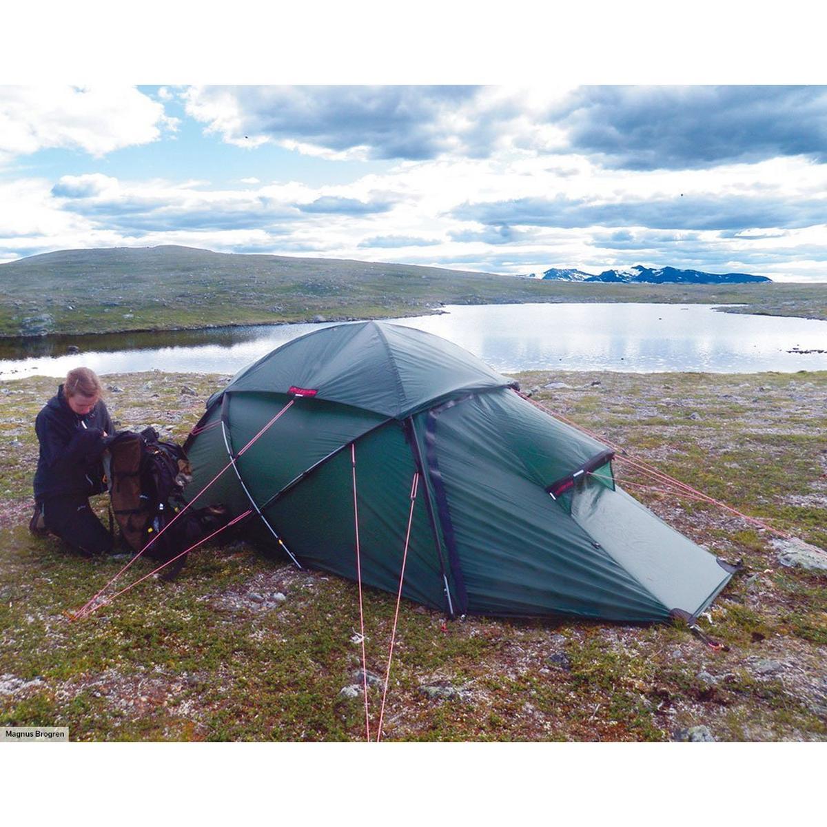 Hilleberg Saivo 3 Tent - Green