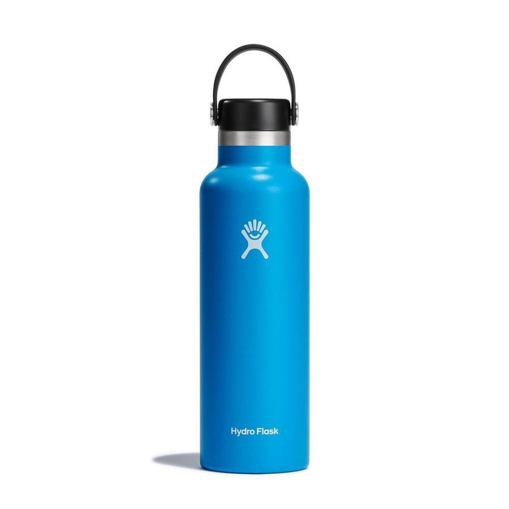 Hydro Flask HYDRATION 21oz / 0.6 L Standard Mouth Flex Cap Bottle Pacific