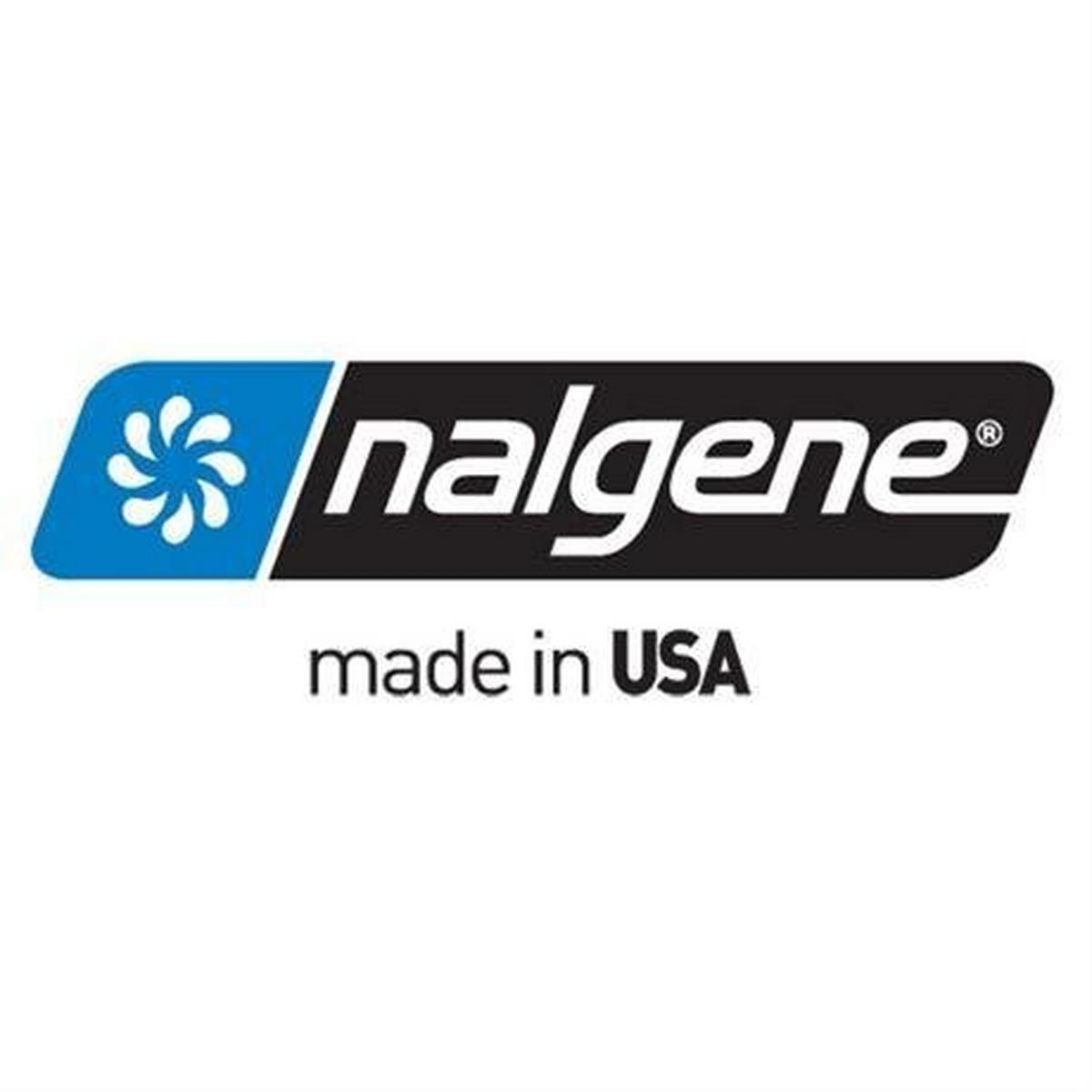 Nalgene Tritan 1L Wide Mouth Bottle Clear/Green