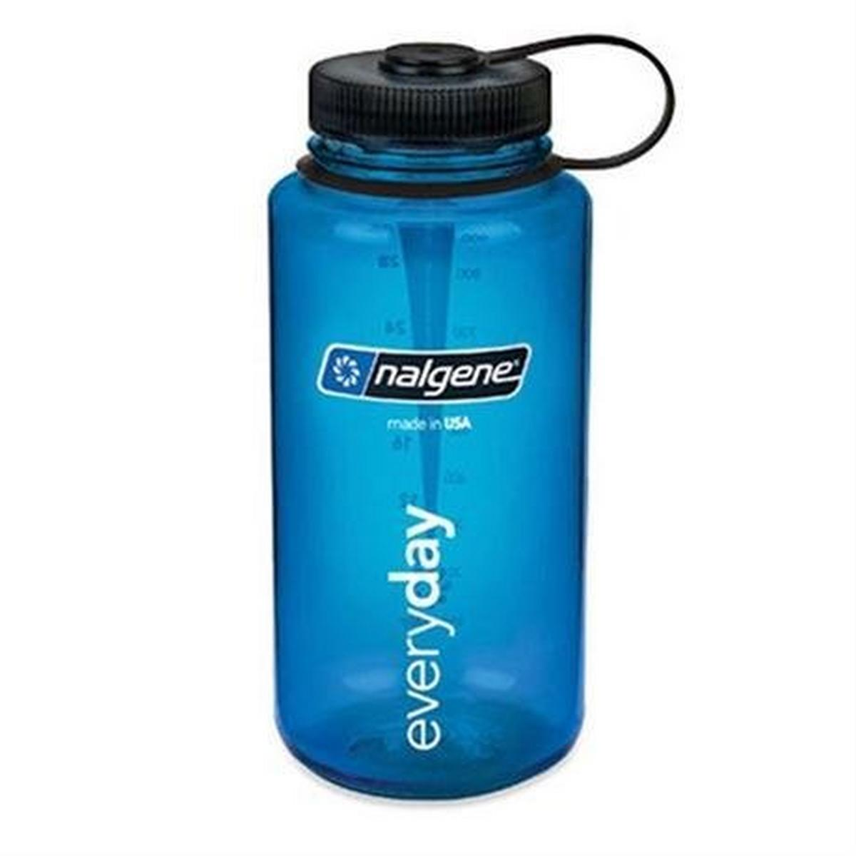 Nalgene Tritan 1L Wide Mouth Bottle Blue