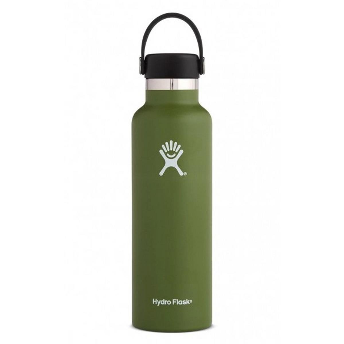 Hydro Flask HYDRATION 21oz / 0.6 L Standard Mouth Bottle Olive