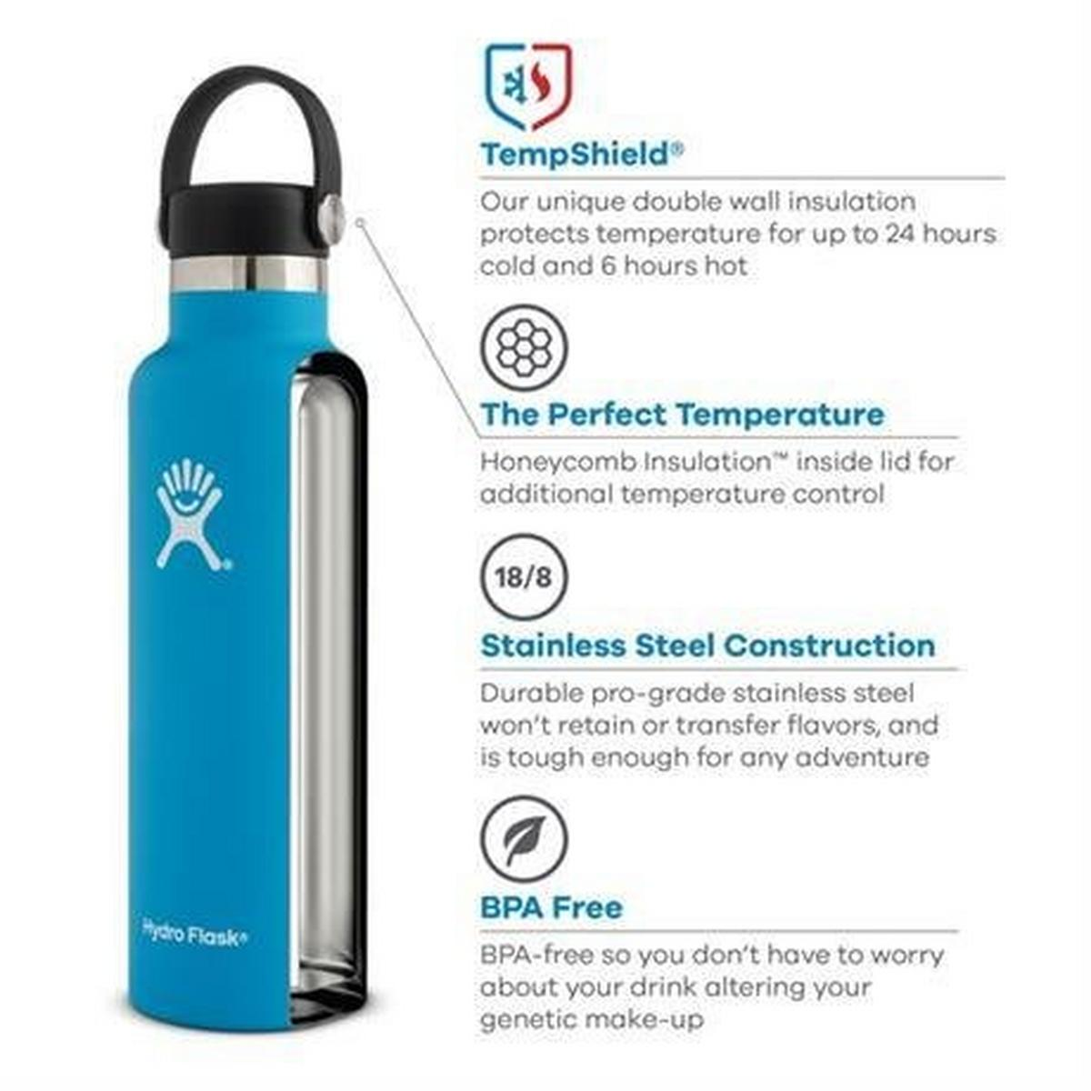 Hydro Flask Spare/Accessory: Standard Mouth Flex Cap Cobalt