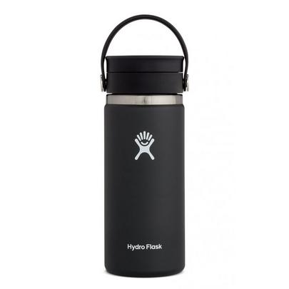 Hydro Flask 16OZ Coffee Cup with Wide Mouth Flex - Black